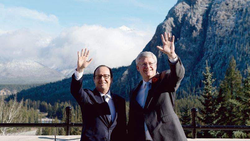 France leader Hollande in Canada for state visit