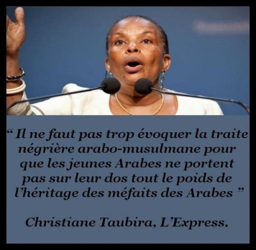Christiane taubira militante de l anti france la for Portent en arabe