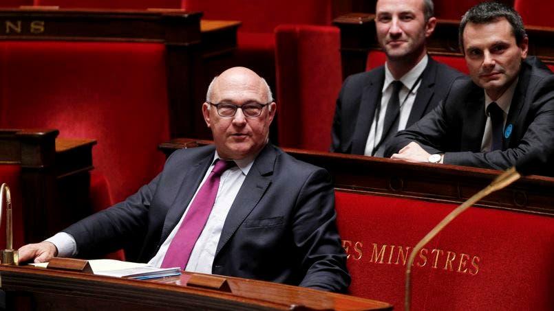 AMBIANCE A L'ASSEMBLEE NATIONALE, A L'OCCASION DU VOTE DU BUDGET