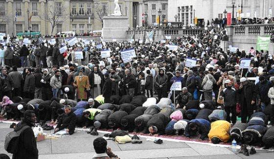 Muslim invasion of West