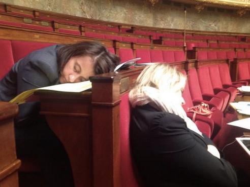 Cécile-Duflot-dort-a-lassemblee-nationale
