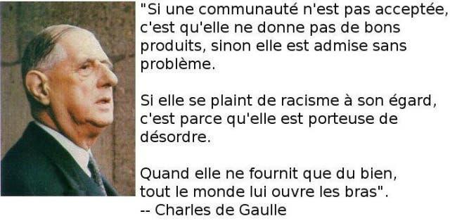 De Gaulle Avait Compris Le Probleme Pose Par L Immigration Ses
