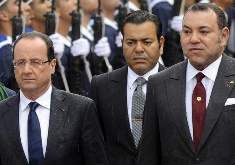 le-president-francois-hollande-et-le-roi-mohammed-vi-le-3-avril-2013-a-casablanca