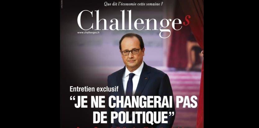 110315 Challenges Une François Hollande