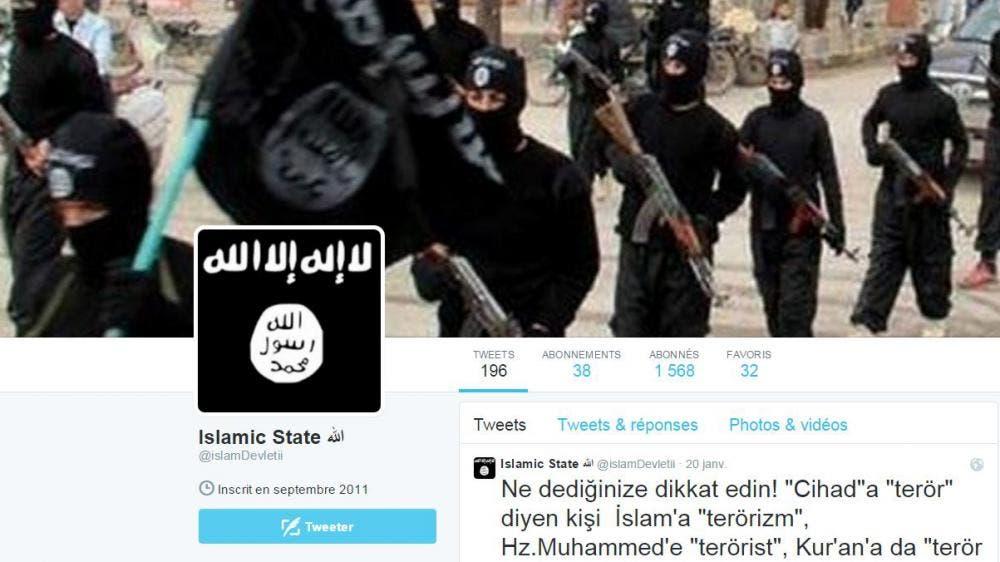 twitter etat islamique