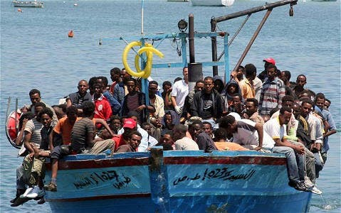 Naufrage_bateau_migrants_illegaux_Lampedusa