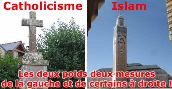 catholicisme-islam-deux-poids-deux-mesures