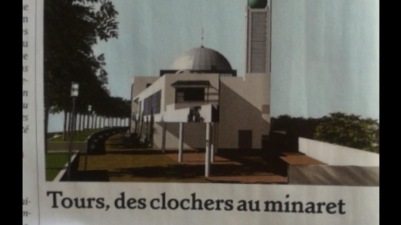 mosquée tour