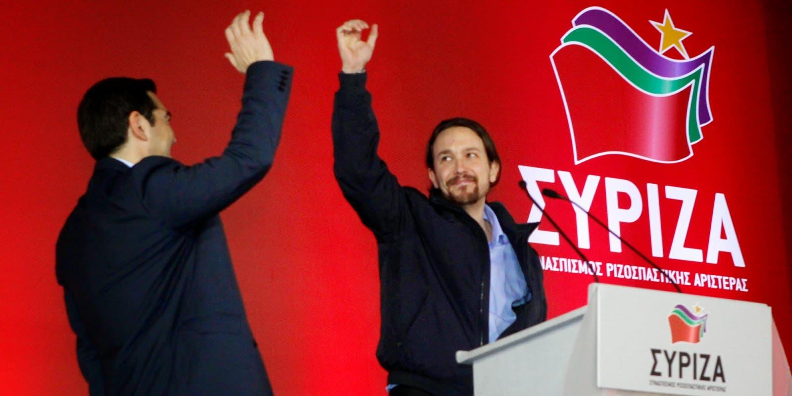 syriza podemos