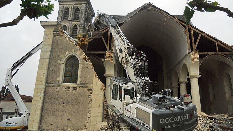 églises détruites