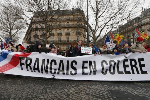 français en colère
