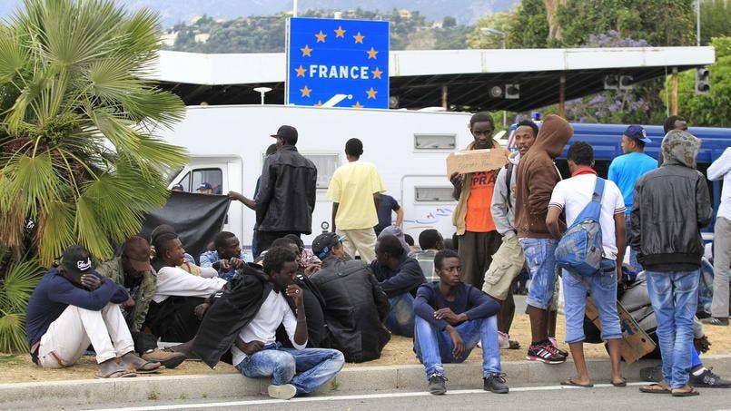 migrants france