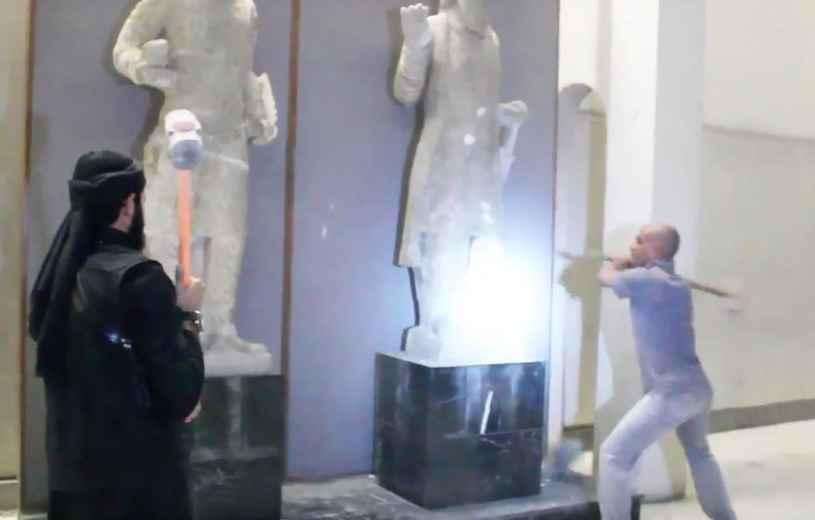 daesh-detruisent-statues-mossoul-irak-video-mise-ligne-26-fevrier-2015