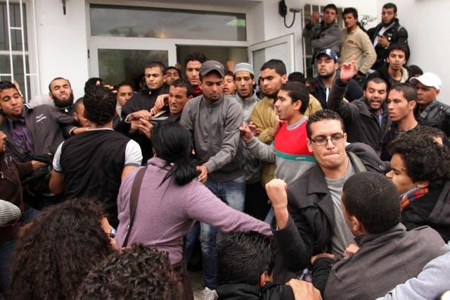 demandeurs d'asile arabes