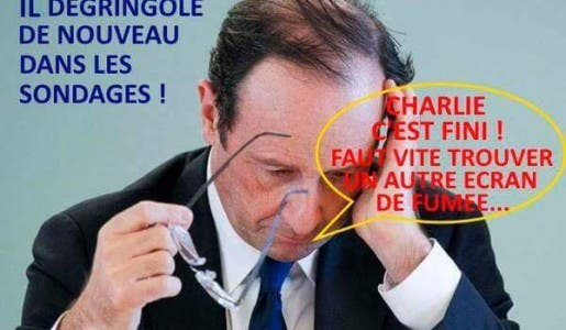 Youpiiiii c'est la rentrée de François-La-Faillite en « mode » séduction.