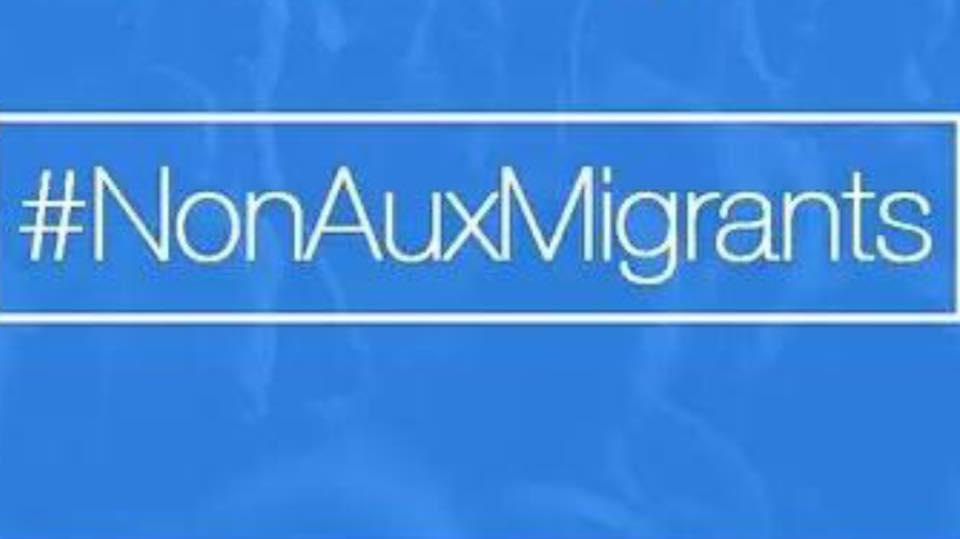 non aux migrants