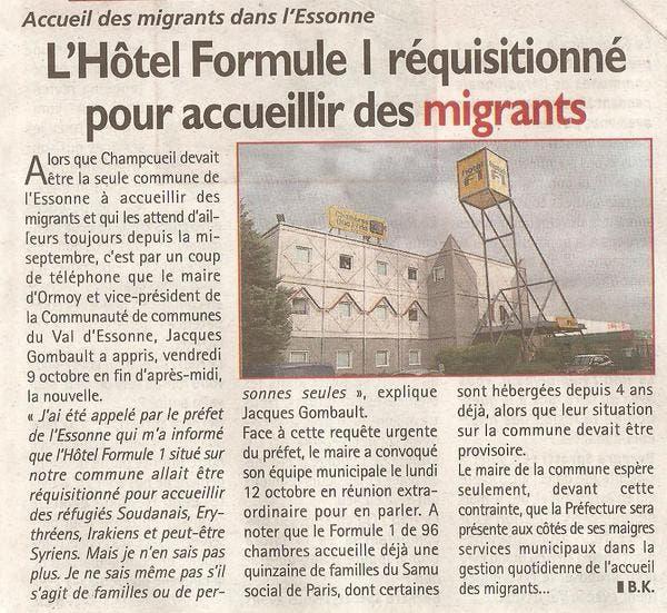formule 1 migrants
