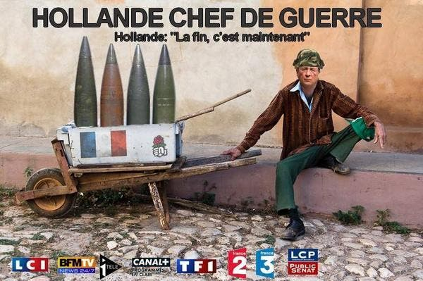 hollande chef de guerre
