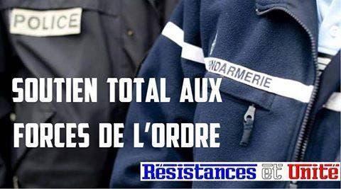 soutiens aux policiers