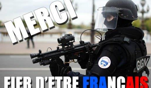 La police avec son assaut à Saint-Denis a évité un nouvel attentat prévu le 19/11 à la Défense. Merci !