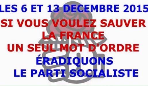 Aux élections régionales de décembre faites perdre massivement la gauche !