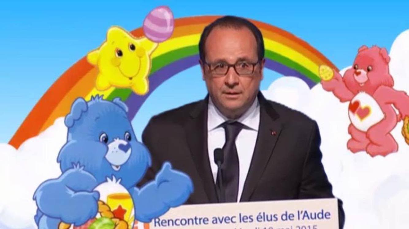 bisou hollande