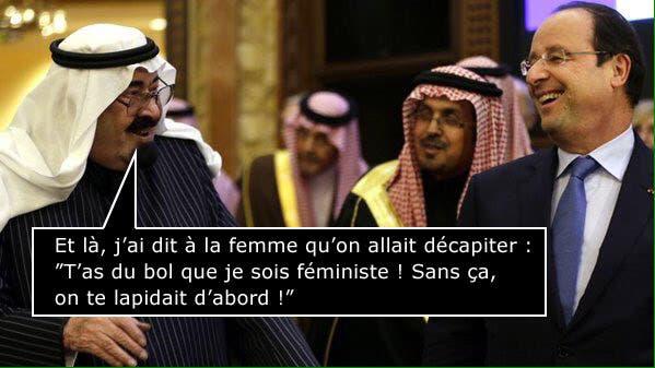 MDR Hollande-rit-avec-le-prince-saoudien-2