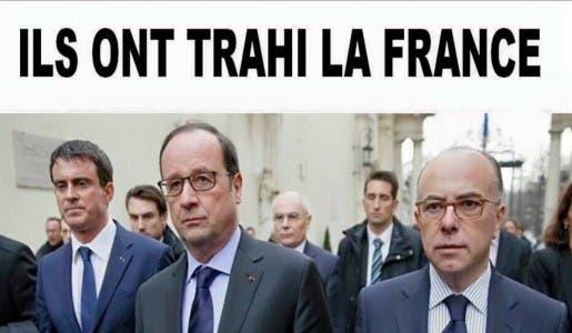 Non à Hollande-2017 ! Non à la continuation de l'anarchie !