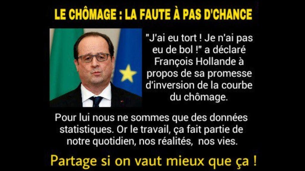 hollande-chomage