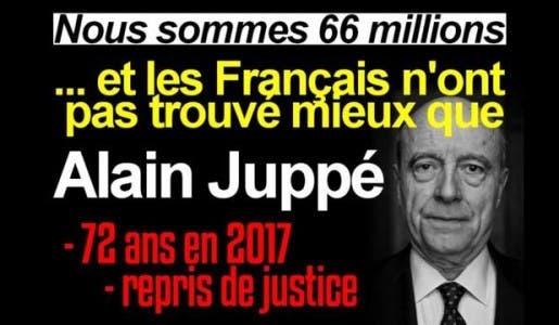 Déclaration d'Alain Juppé : « je n'aime pas les flics et je déteste les juges ! »