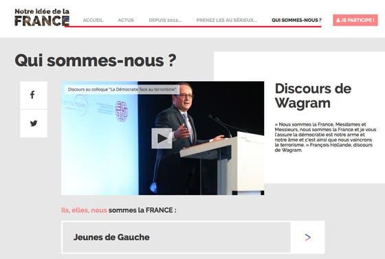 Hollande utilise les moyens de l etat financ s par les for Idee site internet