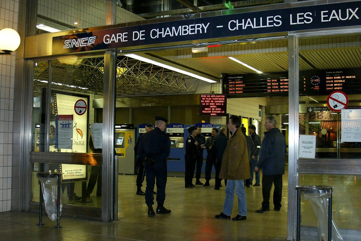 gare chambéry