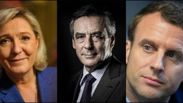 presidentielle-le-pen-fillon-et-macron-en-tete-selon-un-sondage