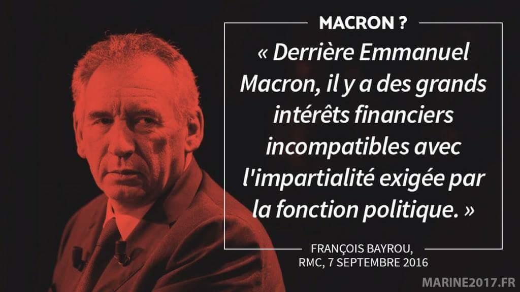 bayrou macron