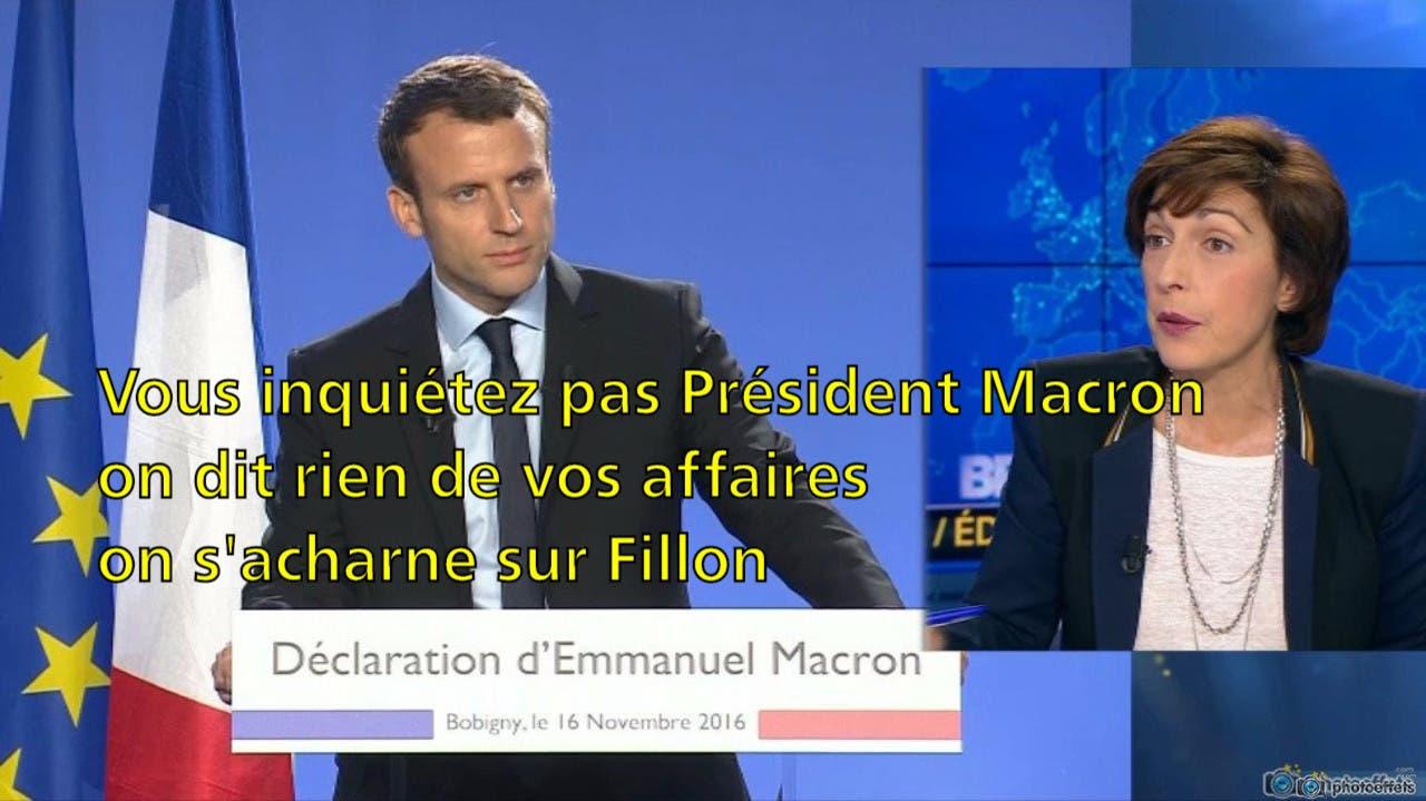 macron bfm