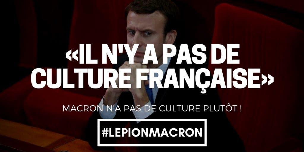 macron culture
