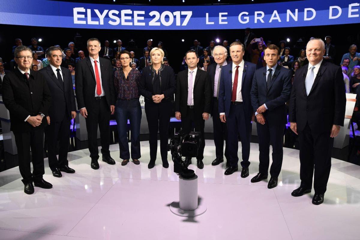 candidats présidentielles
