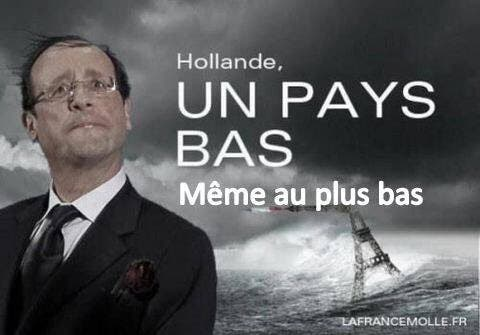 hollande connard