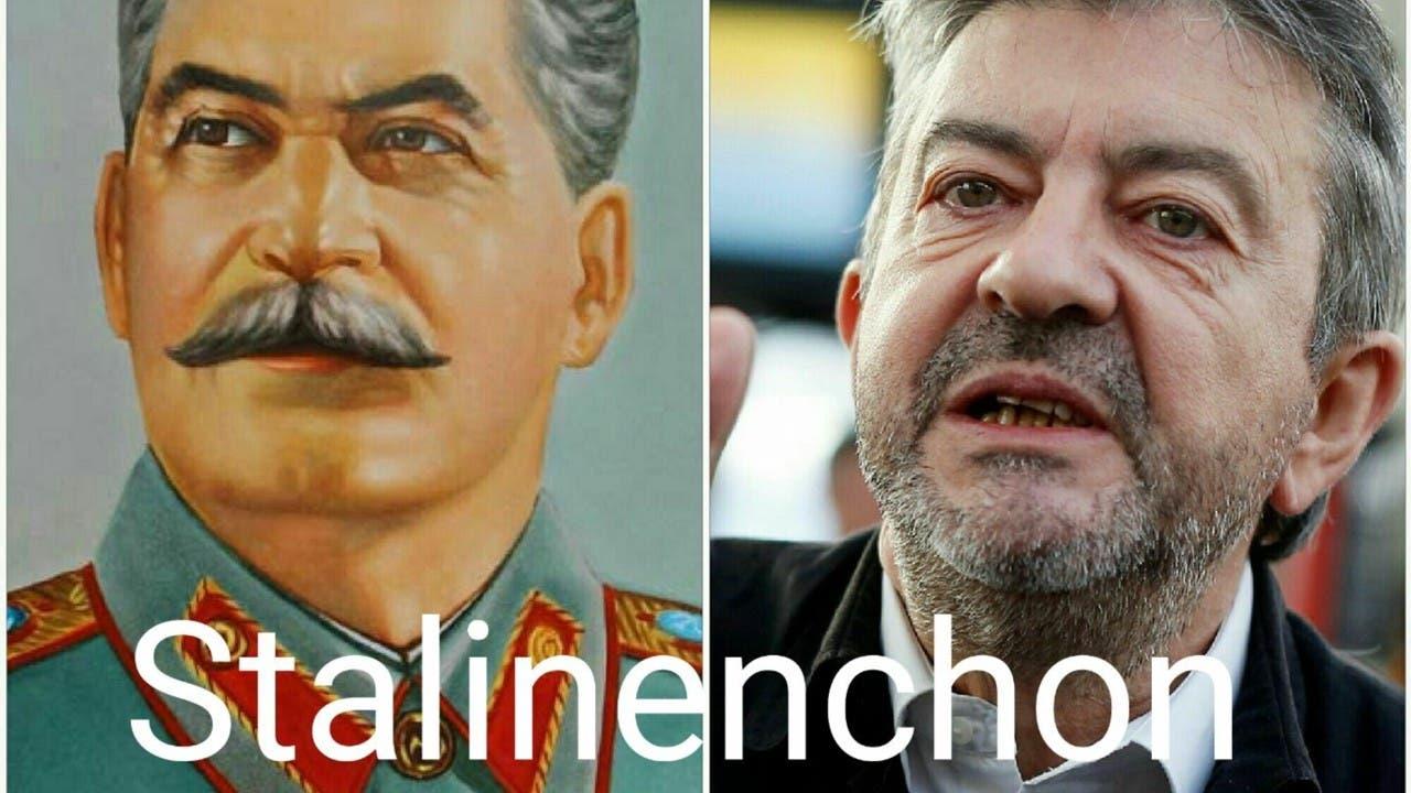mélenchon staline