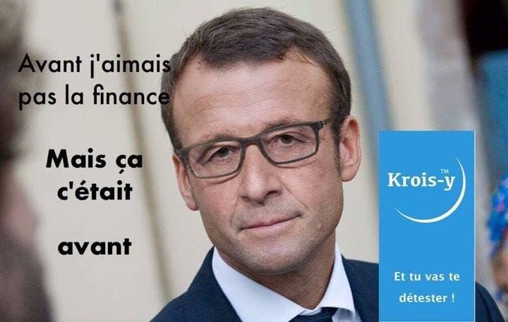 Résultats de recherche d'images pour «Macron président de la finance»