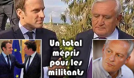 En votant Macron les politiciens des Républicains ont un total mépris envers leurs militants de droite