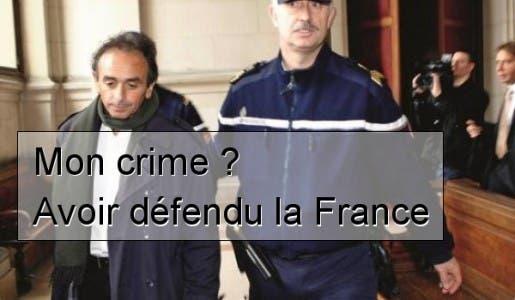 Pour avoir dit la vérité Eric Zemmour risque la prison, les rappeurs pour avoir insulté la France sont gratifiés