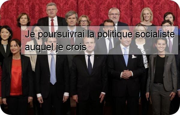 macron socialiste