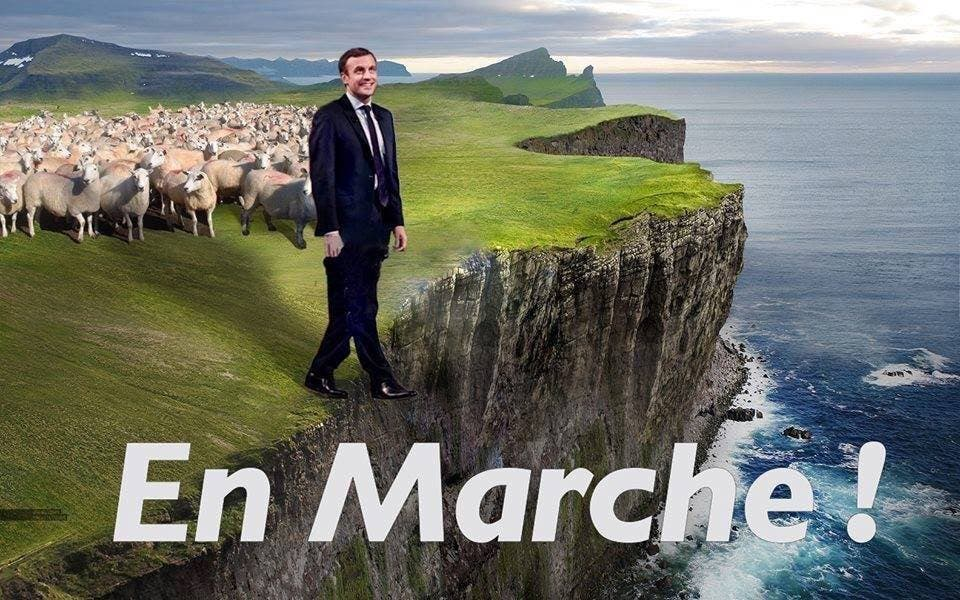 mouton macron