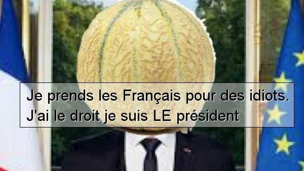 Macron-melon