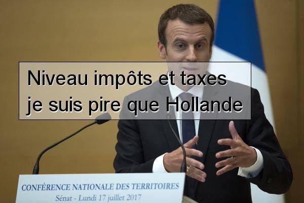 taxe macron