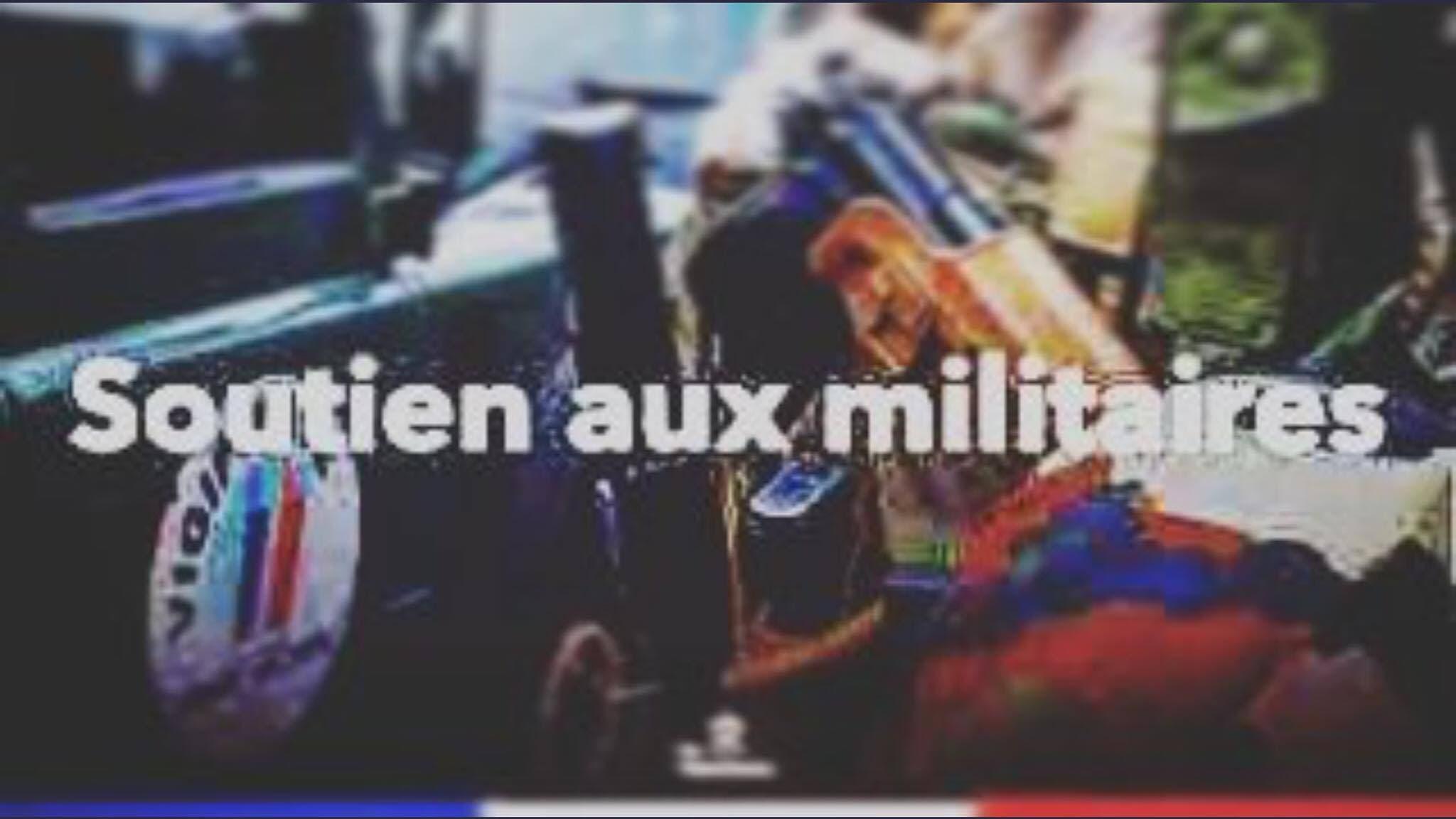 SOUTIEN AUX militaire