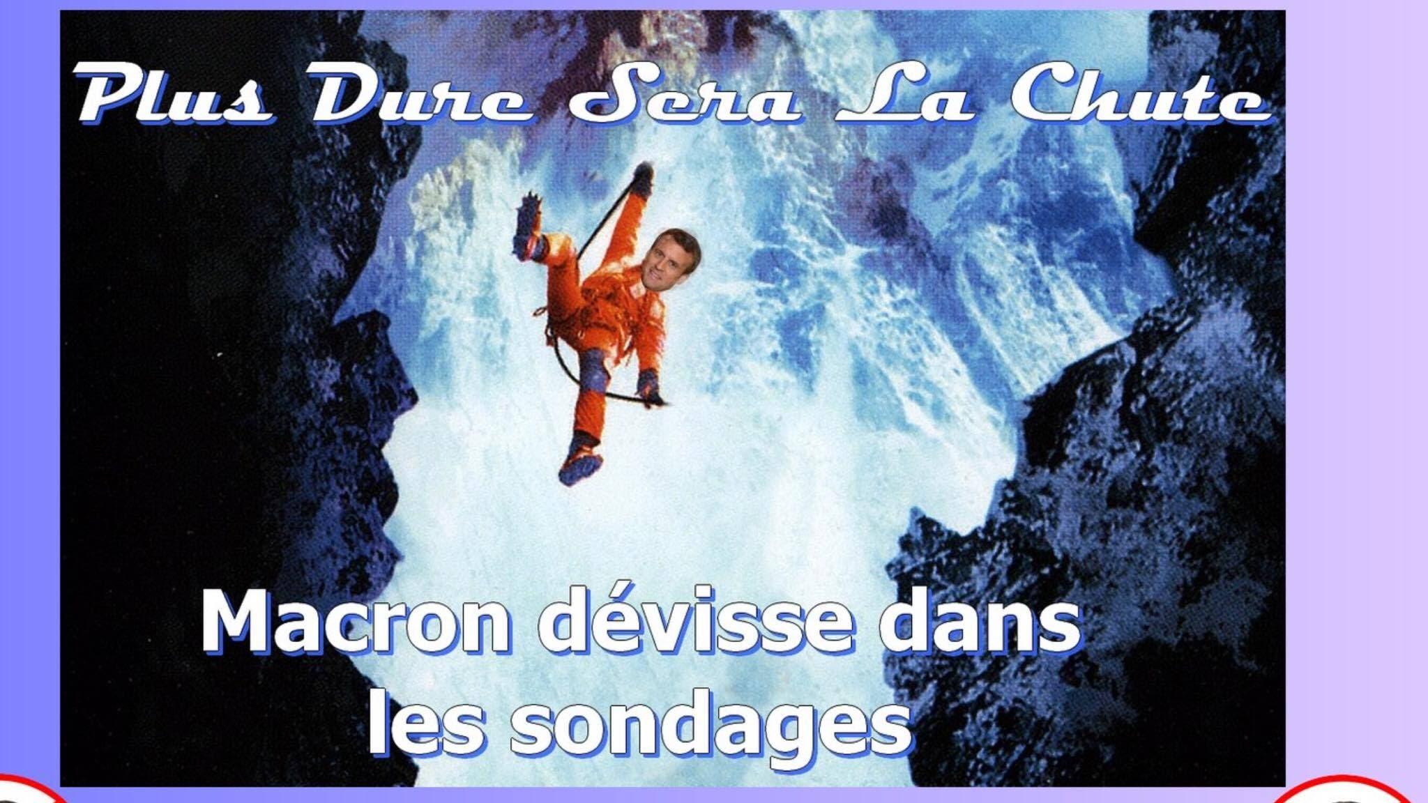 macron chute1