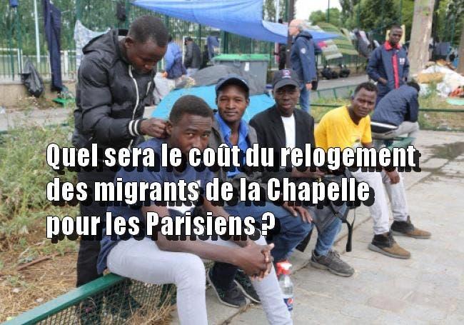 migrants la chapelle