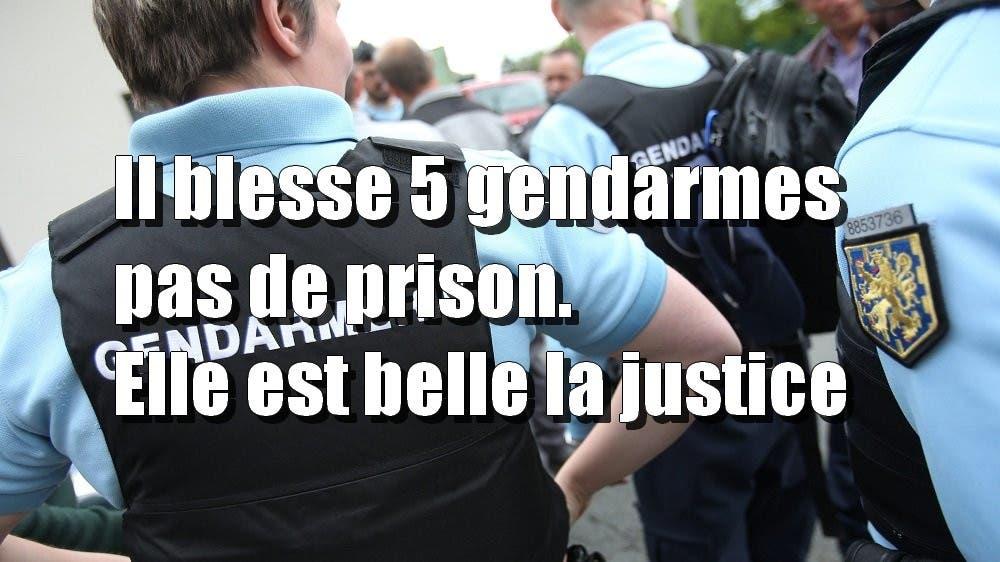 5 gendarmes